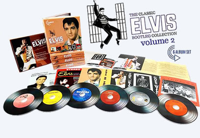 Elvis: The Classic Bootleg Collection Volume 2 | 6 CD Set