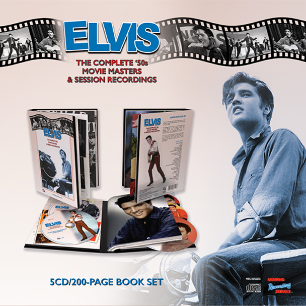 Elvis: 'The Complete '50s Movie Masters And Session Recordings' 5 CD Boxset.