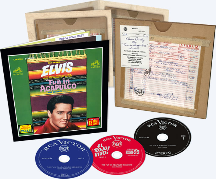 Elvis: The Fun In Acapulco Sessions (3-CD) Deluxe Set from FTD