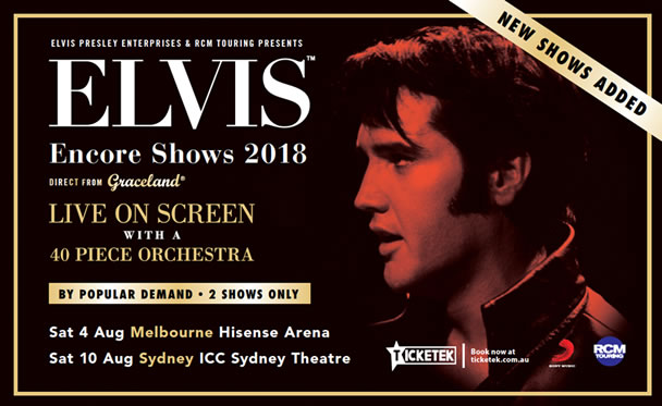 Elvis The Wonder Of You Encore Shows 2018.