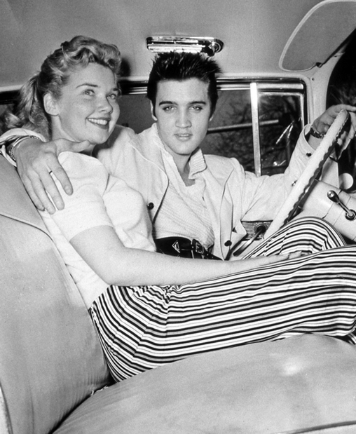 Elvis Presley with Yvonne Lime | Easter 1957