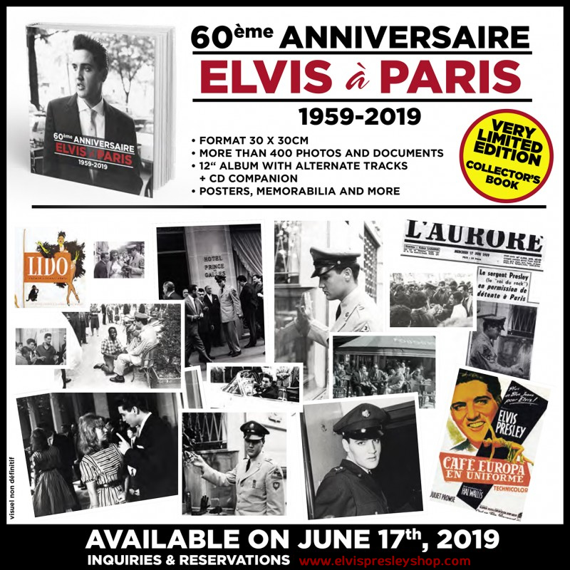 Preview | Elvis In Paris Deluxe Limited Edition Hardcover Book Set