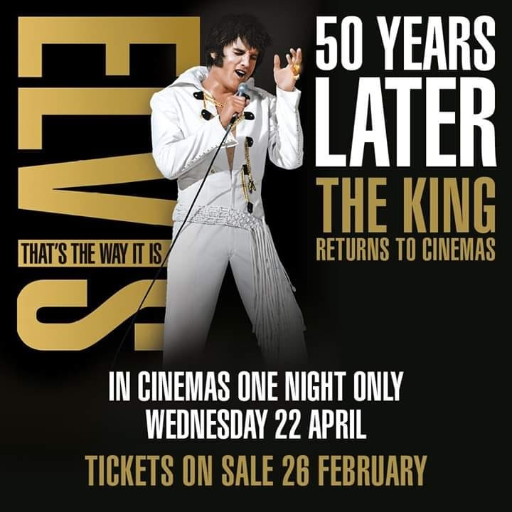 Elvis: That's the Way It Is Cinema Re-release | April 2020