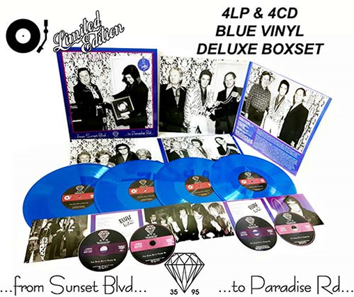 From Sunset Boulevard To Paradise Road 4LP + 4CD Box Set