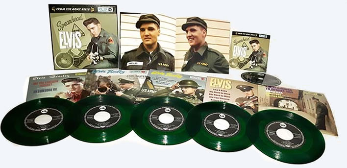 'From The Army Reels' | 5 x 45 RPM / EP + 1 CD in deluxe box set | Green Vinyl.