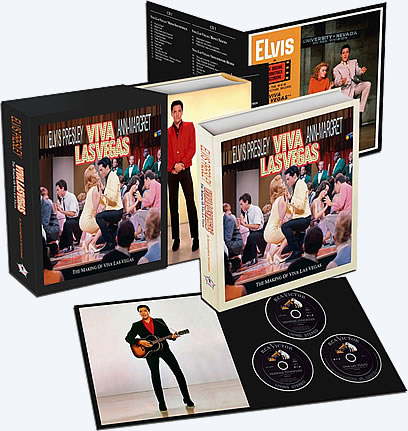 Released | The Making of Viva Las Vegas Deluxe Hardcover Book and CD Set