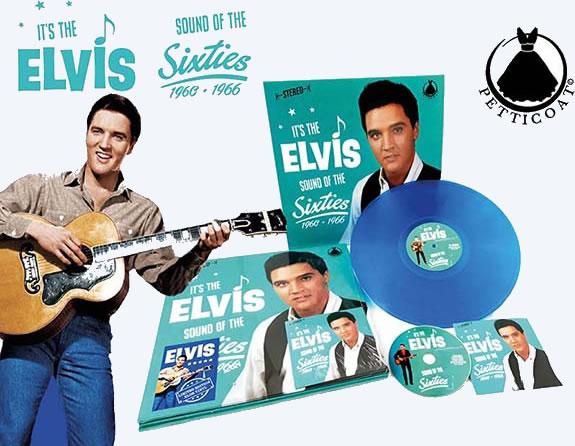 It's The Elvis Sound Of The Sixties Vinyl LP Record CD