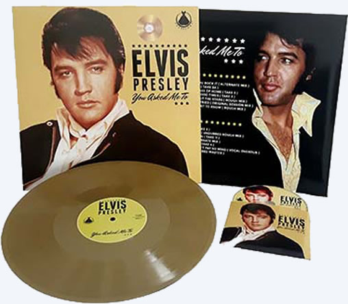 Elvis: 'You Asked Me Too' Vinyl LP