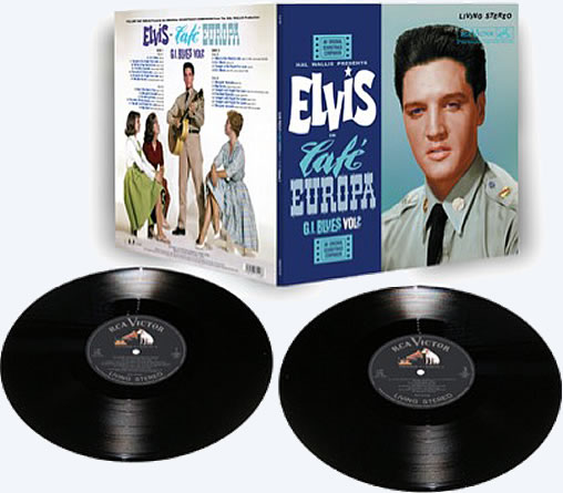 'Elvis: 'Café Europa | G.I. Blues Vol. 2' limited edition 2 LP Set.