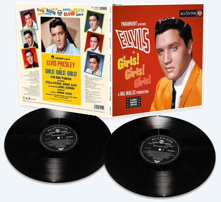 Elvis: Girls! Girls! Girls! | Limited Vinyl Edition from FTD