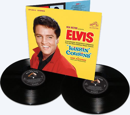 Elvis: Kissin' Cousins | Limited Vinyl Edition 2 LP Set.