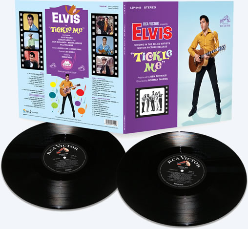 Released | Elvis: 'Tickle Me' Limited Edition 2-LP set from FTD