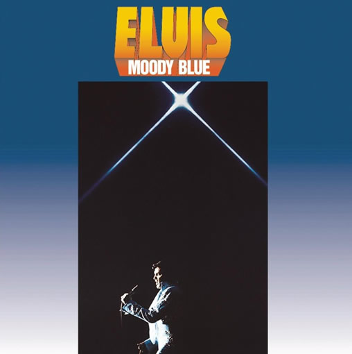 Elvis: 'Moody Blue' LP 40th Anniversary Release from Sony Music.