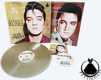 Elvis: 'My Kind Of Blues' LP Record CD