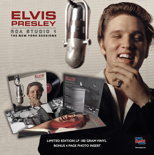 MRS Record Store Day LP 'RCA Studio 1 | The New York Sessions' LP.