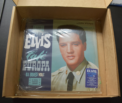 How we pack our Elvis Presley Vinyl LP Records