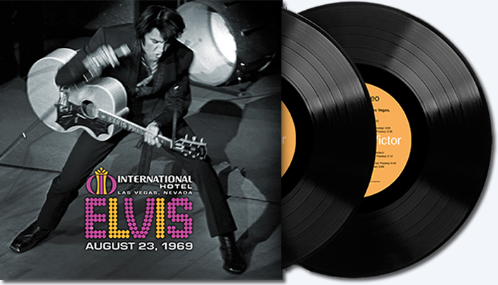 Record Store Day | Live at the International Hotel, Las Vegas, NV August 23, 1969.