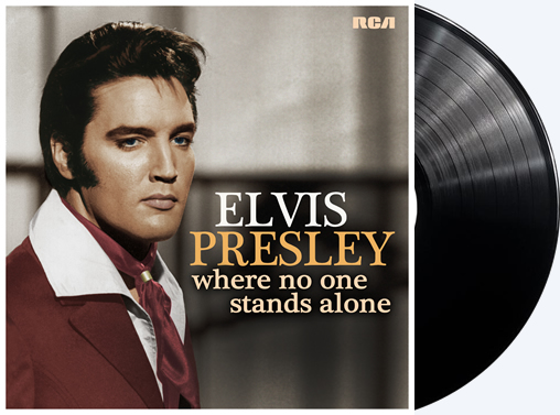 Elvis: 'Where No One Stands Alone' LP.