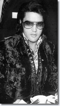 Elvis Presley January 16, 1971.