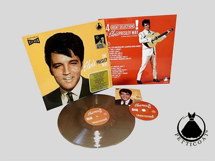 The Elvis Presley Way CD LP Record