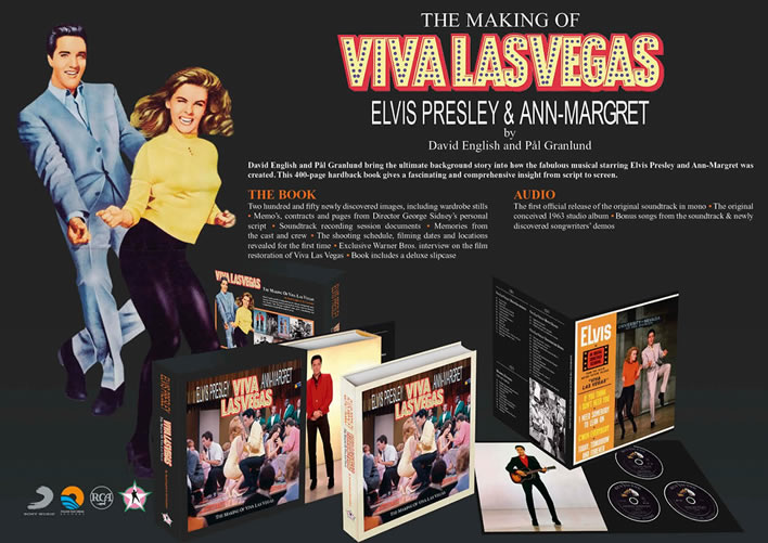 'The Making of Viva Las Vegas' Books and CD Set from FTD.