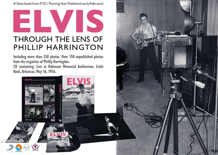 Elvis: 'Through The Lens Of Phillip Harrington' Hardcover Book from FTD