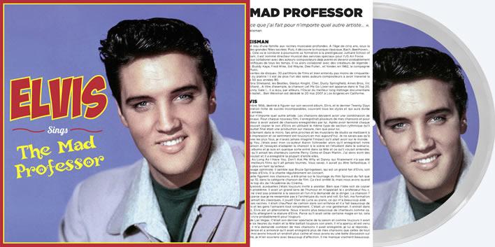 Elvis Sings The Mad Professor LP Record