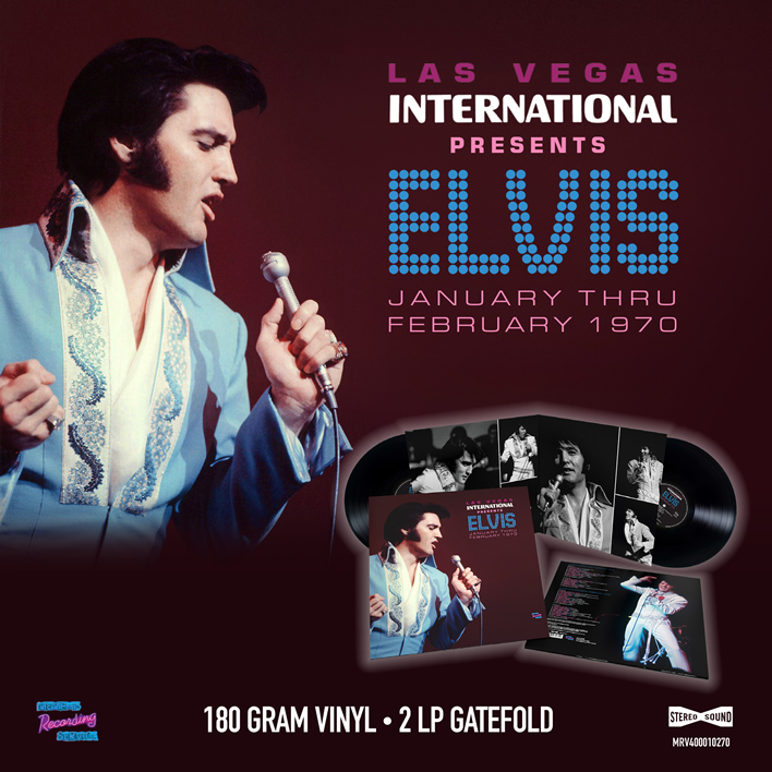 Las Vegas International Presents Elvis - January Thru February 1970 (2LP 180g Gatefold)