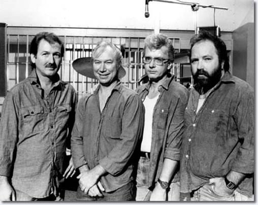 The TCB Band - James Burton - Glen D Hardin - Jerry Scheff - Ronnie Tutt